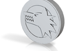 Wolf Head / Scorpion Tail Coin 3d printed