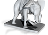 Elephant Bookholder Left Side) 3d printed