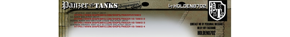 Panzer VS Tanks Shop Banner