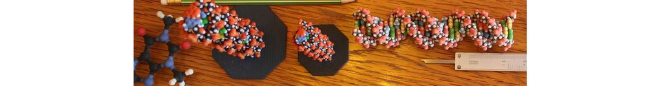 Molecule Models Shop Banner