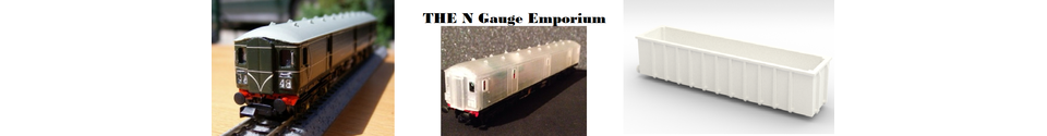 The N Gauge Emporium Shop Banner