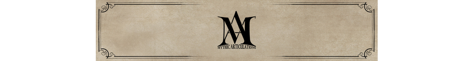 Mythic Articulations & Richardson Creations Shop Banner