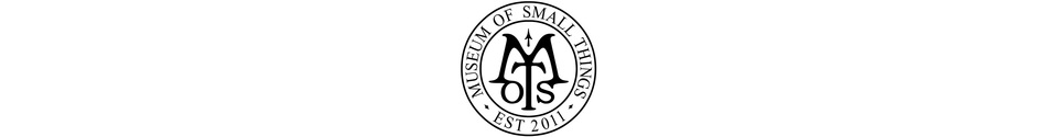 Museum of Small Things Shop Banner