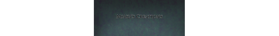 Miaka's Creations Shop Banner