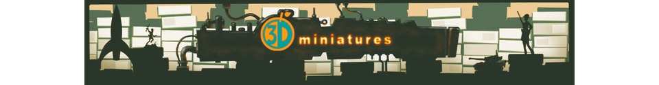 O3D Miniatures Shop Banner
