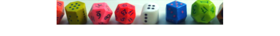 Blank Dice Shop Banner