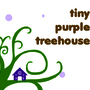 tiny purple treehouse