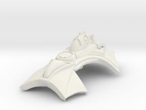 Carriak in White Natural Versatile Plastic