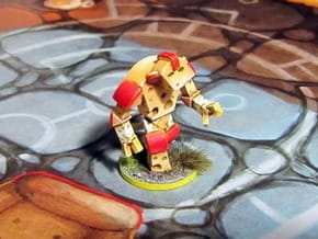Cheese Golem - Mice & Mystics in Smooth Fine Detail Plastic
