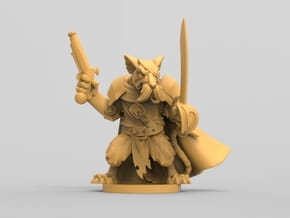 Captain Vurst - Mice and Mystics in White Natural Versatile Plastic