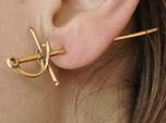 Rapier Earrings (17th c. Sword)