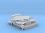 1/350 HMS Warspite Superstructure Hangars
