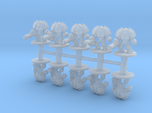 Saturnine Terminators Heavy Weapons 6mm miniatures