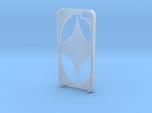 iPhone 5 case - thatch pattern