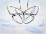 Moduza Butterfly Pendant