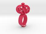 Fidget Ring - Turbine spinner ring