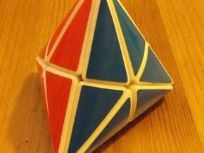Tetra Star (aka 24-Tetrahedron) in White Natural Versatile Plastic
