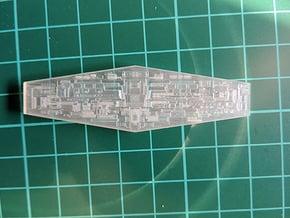 ISD 4222 Bridge Front Fiber in Smooth Fine Detail Plastic