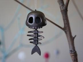 Mermaid Bone - Steel in Polished and Bronzed Black Steel
