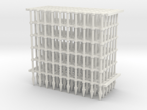 Gates Frame X6 in White Natural Versatile Plastic