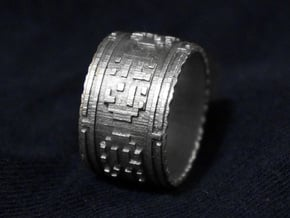 The Wanderer (Ring) in Natural Silver