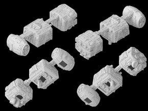 (Armada) Mobquet Medium Transport in White Natural Versatile Plastic