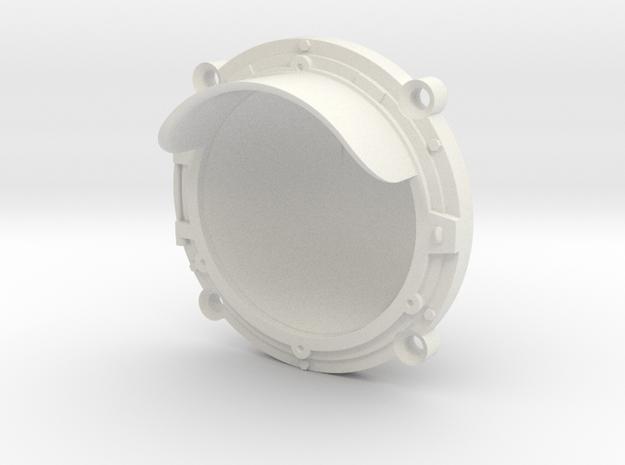 Headlight Bezel for LED in White Natural Versatile Plastic