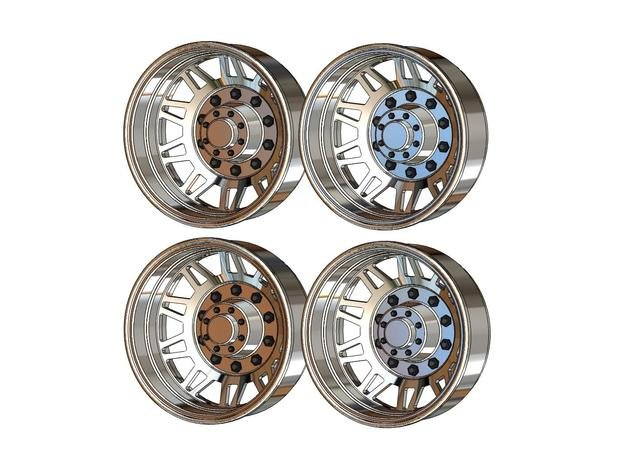 TRIANG WHEELS REAR ONLY 16 in White Natural Versatile Plastic
