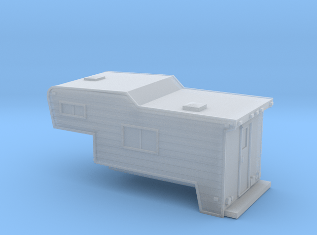 N-Scale Slide-In Camper in Smoothest Fine Detail Plastic