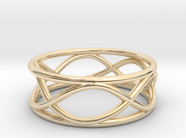 Infinity Ring- Size 6 in 14K Yellow Gold