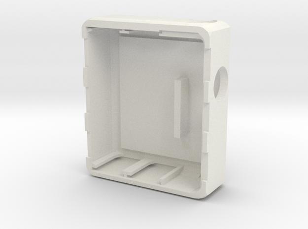 MARK XI Unregulated Dual 18650 body in White Natural Versatile Plastic