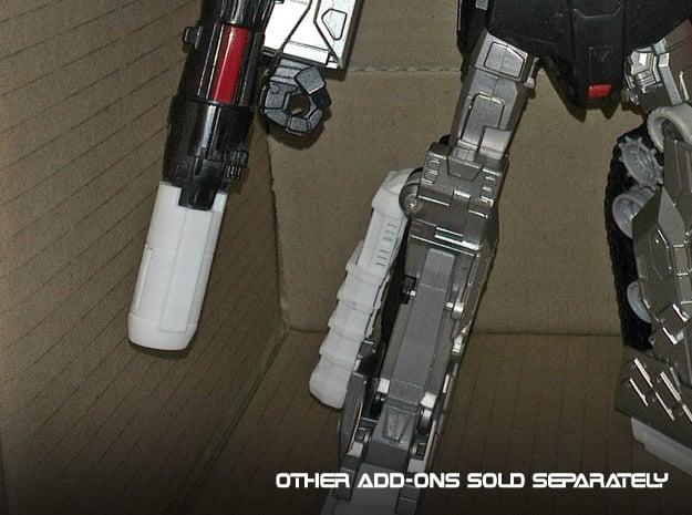 CW Megatron - Cannon Beefomizer in White Processed Versatile Plastic