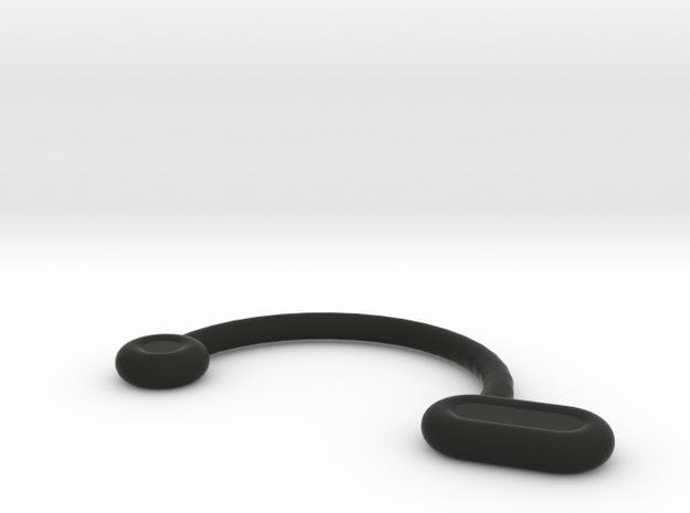 Nose Insert1 9 R1 11.5 R2 1.0 R3 2.0 R4 1.2 Theta  in Black Natural Versatile Plastic