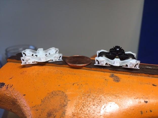 Alco Hi-Ad Trucks (N/HO/O) in Smoothest Fine Detail Plastic: 1:160 - N