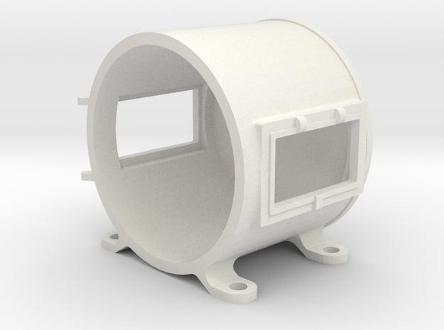 "3/4"" Scale Live Steam Sunbeam Headlight in White Natural Versatile Plastic"