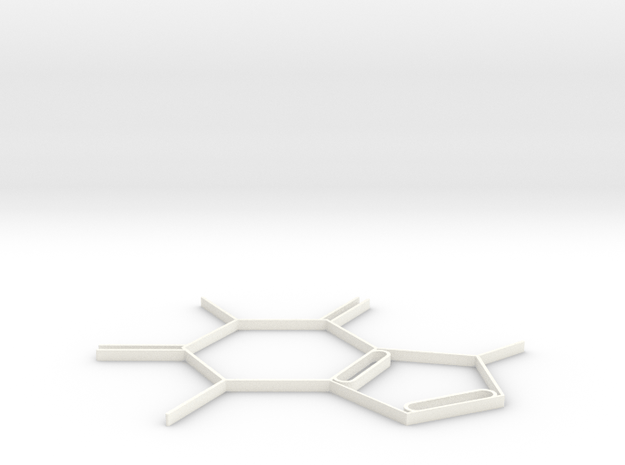 Coffee in White Processed Versatile Plastic