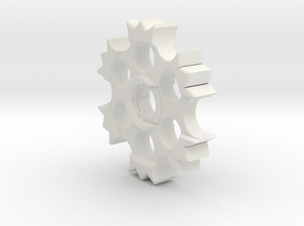 EDrum Rocket Trigger System (Adjuster Wheel) in White Natural Versatile Plastic