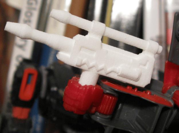 Wildshot Weapon (5mm handle) in White Natural Versatile Plastic