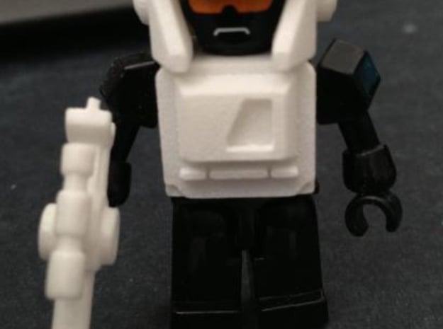 Boomboxer Upgrade Set in White Natural Versatile Plastic