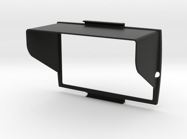 Sunshade for BMW Navigator 5 in Black Natural Versatile Plastic
