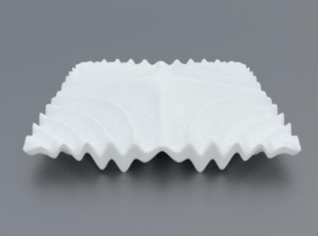 Mathematical Function 1 in White Processed Versatile Plastic