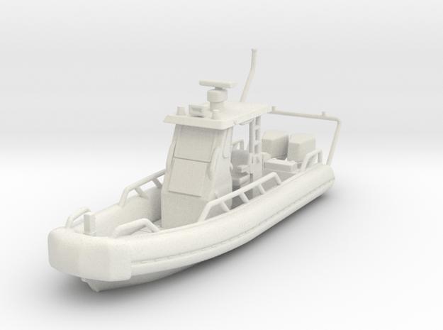 1/87 USN 24' Oswald Patrol Boat Waterline in White Natural Versatile Plastic