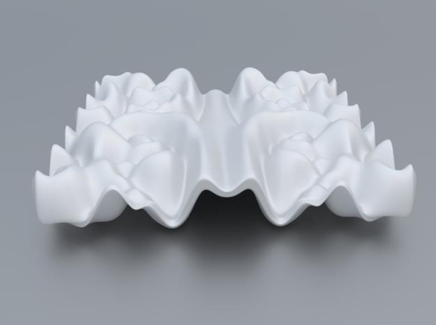 Mathematical Function 2 in White Processed Versatile Plastic