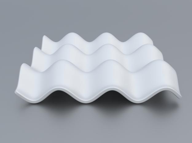Mathematical Function 3 in White Processed Versatile Plastic
