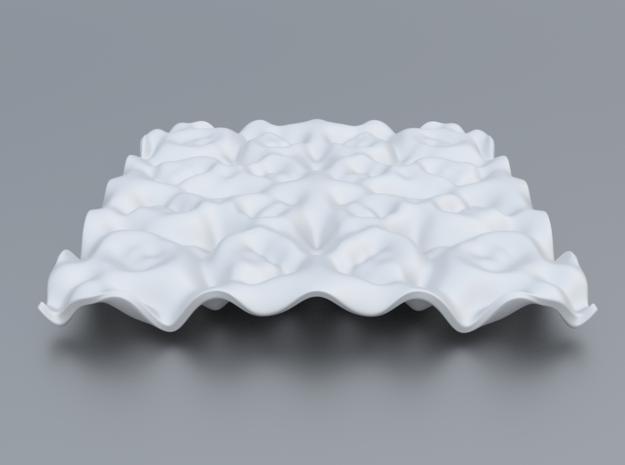 Mathematical Function 4 in White Processed Versatile Plastic