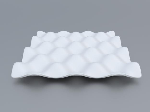 Mathematical Function 5  in White Processed Versatile Plastic