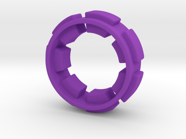 Out of borders collection - size 6 in Purple Processed Versatile Plastic