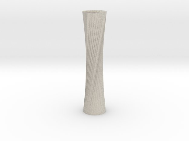 Twisted Candle Stick in Natural Sandstone