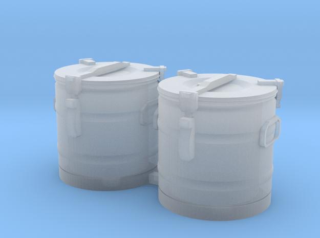 S1-301  2 Essenkübel in Smooth Fine Detail Plastic