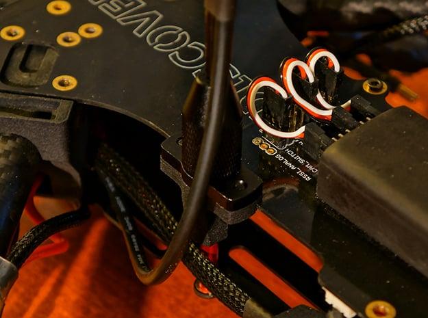 CUAV Pixhack GPS Stand Mount in Black Natural Versatile Plastic